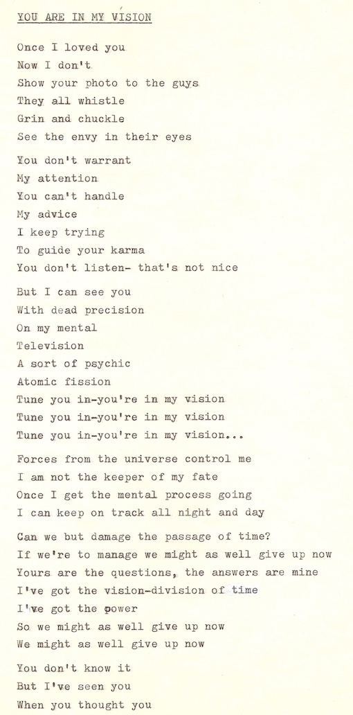 Songs & Poems – Dry Ice Graphics